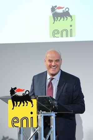 L'amministratore delegato di Eni, Claudio Descalzi