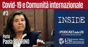 Rischi, ma anche opportunità, dell'emergenza Covid-19: il podcast dell'intervento di Paola Severino