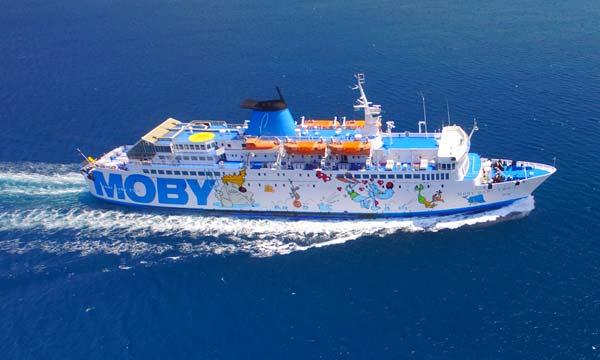 Auto a un euro a settembre: la vantaggiosa offerta di Moby Spa e Tirrenia